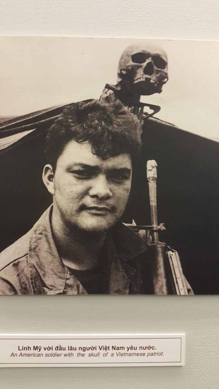 солдат удачи с черепом вьетнамского патриота авторская репродукция)
